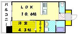 エスケイ-22[7階]の間取り