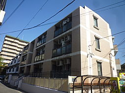 百合第二マンション[1階]の外観