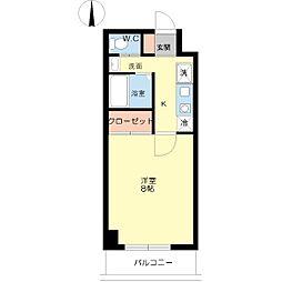 ハーバーハウス大阪[4階]の間取り