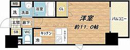 プレサンス大阪城公園ネクサス[2階]の間取り