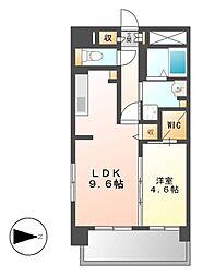 シェソワ東桜[3階]の間取り