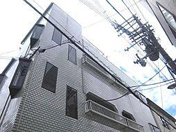 大阪府大阪市阿倍野区播磨町3丁目の賃貸マンションの外観