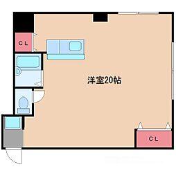 ツカサハイツ9[3階]の間取り