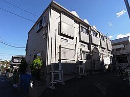 ラピスAP鶴川[202号室]の外観