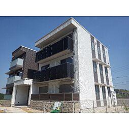 京都府木津川市城山台の賃貸マンションの外観