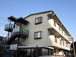 埼玉県草加市栄町3丁目の賃貸マンションの外観