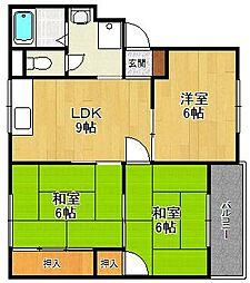 ビオラハウス3[2階]の間取り