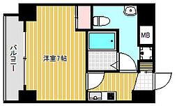 戸越銀座テラス[5階]の間取り