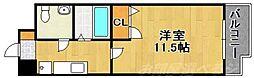 都市ガスアヴィニール竪町[8階]の間取り