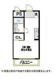 スチューデントハウス村田[3階]の間取り