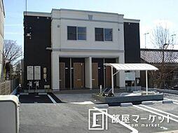 愛知県豊田市高上1丁目の賃貸アパートの外観