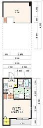 新築(仮称)大阪市平野区平野市町2丁目・SKHコーポ[201号室]の間取り