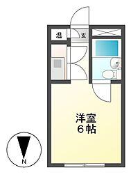 ユニーブル新栄[4階]の間取り