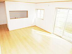 全室ペアガラスの快適リビング