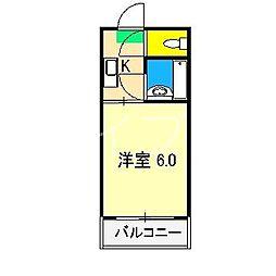 オブジェ1[5階]の間取り