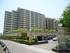 203世帯の大型ハイグレードマンション。