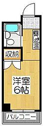 なごみハイツ(旧バーレン45)[502号室]の間取り