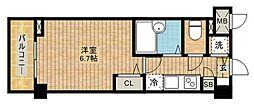 トーシンフェニックス武蔵新城[602号室]の間取り