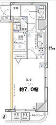 グリフィン横浜・メディオ[8階]の間取り