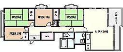 マンハイム芦屋[3階]の間取り