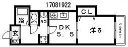 インペリアルメゾンフィールド[3階]の間取り