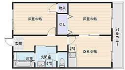 ロイヤルハイツ太田[4階]の間取り