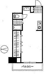 永谷リヴュール新宿[7階号室]の間取り