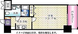 アクアシティ舟入中町[903号室]の間取り