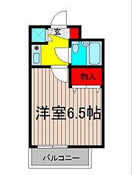 AQUA COAST 26[2階]の間取り