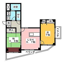 CASA・フェリスI[1階]の間取り