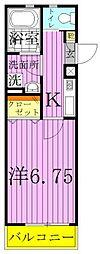 ケイズパレス綾瀬[3階]の間取り