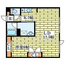 SYハイム[2階]の間取り