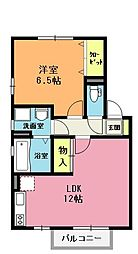 リヴェールメゾン櫻 参番館[2階]の間取り