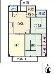 TRUST21[1階]の間取り