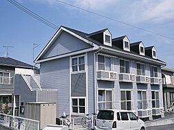 兵庫県神戸市北区藤原台北町7丁目の賃貸アパートの外観