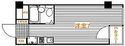 レジオンス清瀬[3階]の間取り
