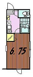 リビエールTSURUKAWA[1階]の間取り