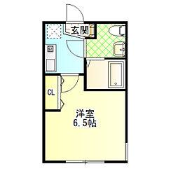 my residence鴨宮駅前[1階]の間取り