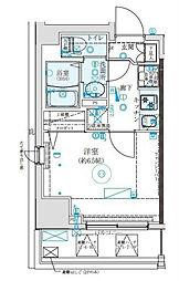 クレイシア西横浜[10階]の間取り