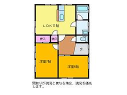 [一戸建] 新潟県新潟市西区小針5丁目 の賃貸【/】の間取り