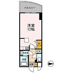 カスタリア新梅田[0904号室]の間取り