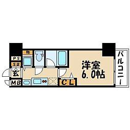 アドバンス大阪城レガーレ[5階]の間取り