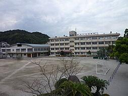 田上小学校まで...