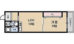 東三国センチュリーマンション[2階]の間取り