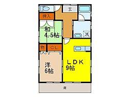 [一戸建] 愛媛県松山市北土居4丁目 の賃貸【/】の間取り