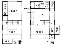[一戸建] 鳥取県米子市両三柳 の賃貸【/】の間取り