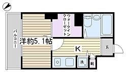 アドリーム文京動坂[311号室]の間取り