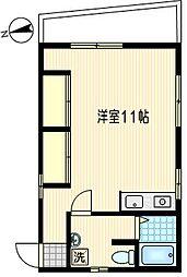 La Casa Kanaya[2階]の間取り