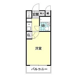 日神パレス三ッ沢公園[1階]の間取り