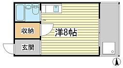 グランクレスト姫路[103号室]の間取り